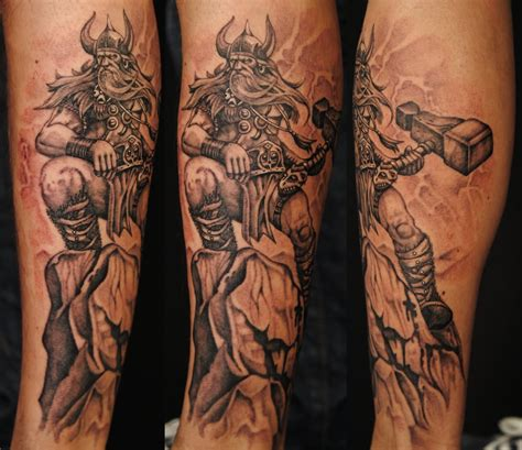 thor tattoo thor tattoos askideas