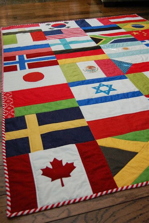 flags of the world quilt 121 best images about sewing flag quilt on pinterest