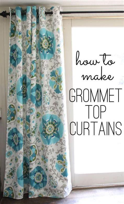 curtain grommets diy diy curtains diy grommet top curtains house