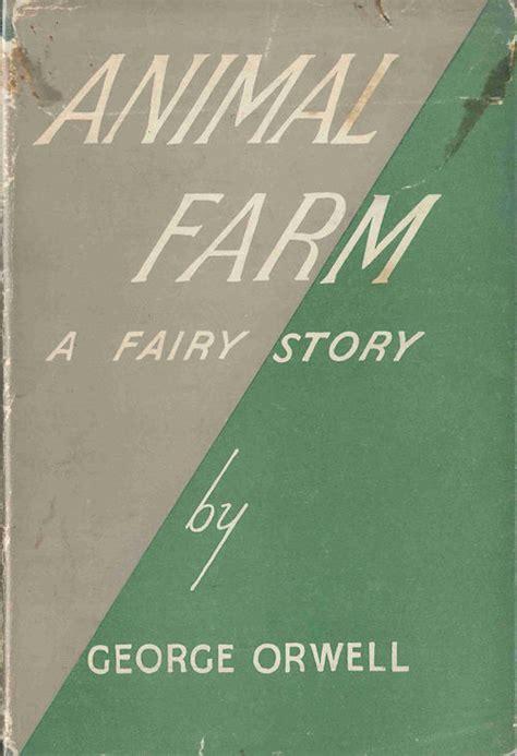 animal farm a fairy 185715150x animal farm a fairy story by george pseud of eric blair orwell hardcover 1945 from
