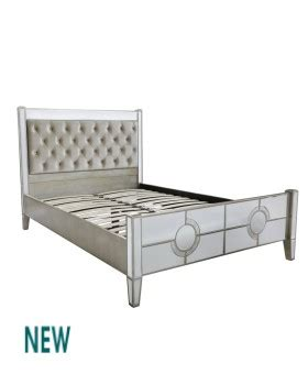 mirrored bed frame mirrrored bed frames outlet mirrors the online decorative mirror superstore