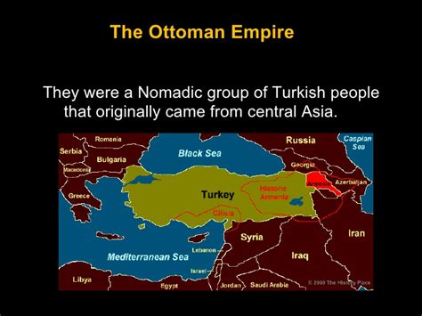 where did the ottomans come from the ottoman empire