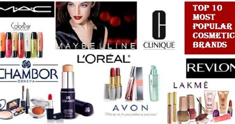 best makeup brands top 10 most popular and best cosmetic brands of the world