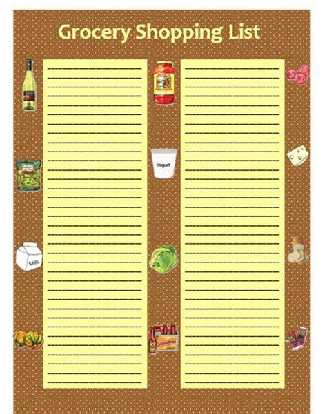 microsoft grocery list template shopping list template new calendar template site