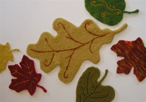 pattern for felt leaves 17 best images about halloween knits on pinterest flower