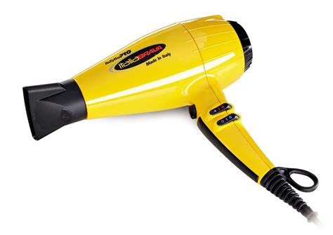 Babyliss Pro Hair Dryer Yellow product of the month babylisspro italiabrava