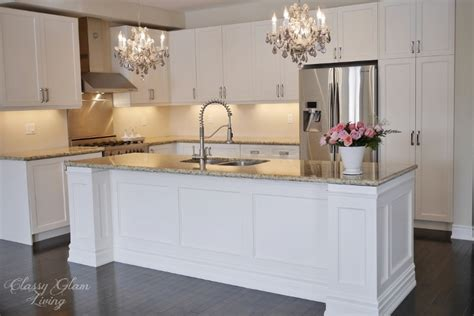 kitchen island makeover diy kitchen island makeover classy glam living