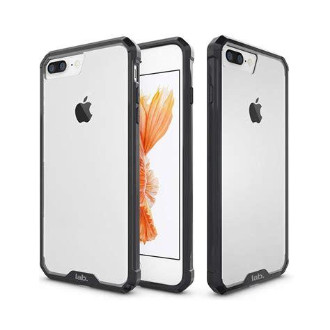 1 iphone 8 plus premium iphone 8 plus ultra hybrid back cover jet black by labrador labrador