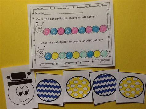 kindergarten pattern activities interactive 1000 images about pattern activities on pinterest