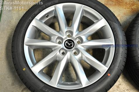 2017 mazda 3 gt oem 18 quot factory wheels dunlop sp sport