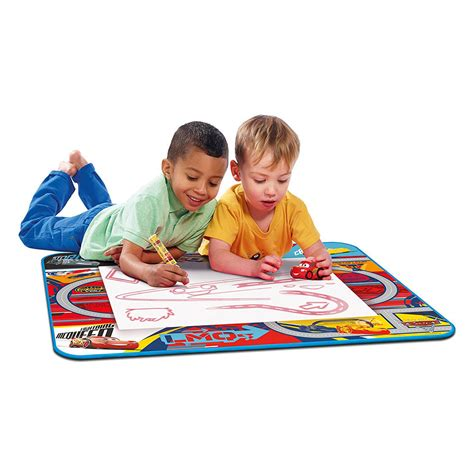 aquadoodle children s drawing toys tomy aquadoodle disney cars play mat drawing kg