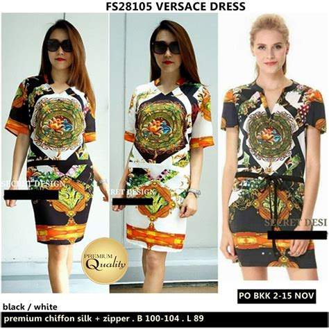 Harga Versace Dress versace dress supplier baju bangkok korea dan hongkong