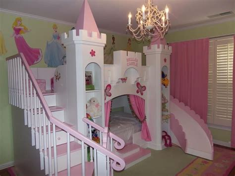 Princess Bunk Bed Castle New Custom Princess 2 Castle Bed Loft Bunk Castle Castle Bed Cinderella Princess