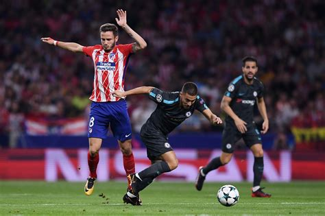 chelsea atletico madrid perfect 10 s across the offence chelsea player ratings in