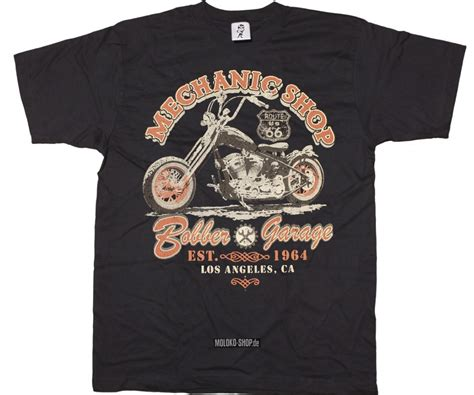 T Shirt Mechanic t shirt mechanic shop bobber garage
