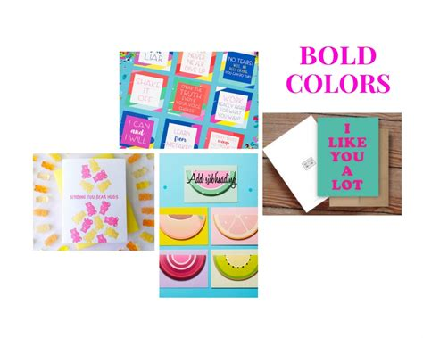 bold color schemes color archives pretty by post