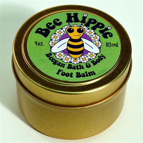 Beekeeping Hippyshopper by Bee Hippie Quot Earth Quot Foot Balm 4oz Hummer And