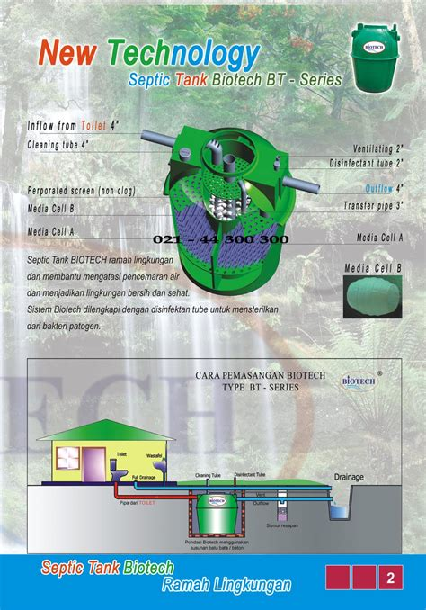 Septic Tank Biotech brochures septic tank biotech ramah lingkungan