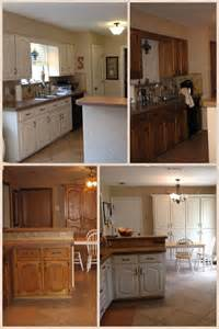 Painting Kitchen Cabinets Home Depot Before And After Painting Kitchen Cabinets Trim And Doors Sw White Paint Color Cabinet