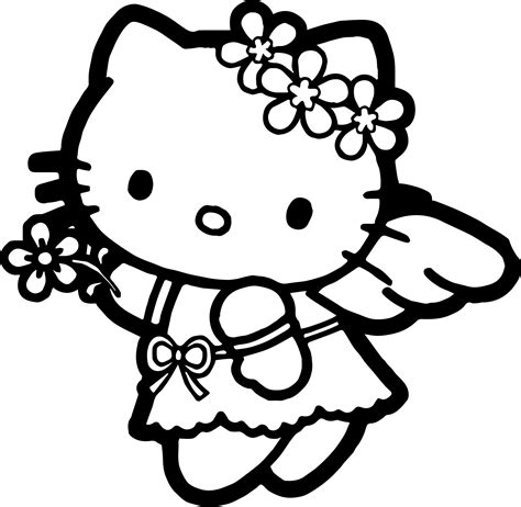 coloring page hello kitty ballerina click the hello kitty ballerina coloring pages coloring