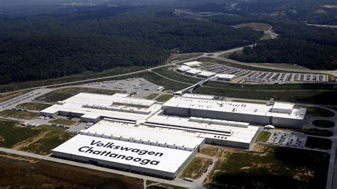 volkswagen plant chattanooga tn tenn vw workers reject move to join union wunc