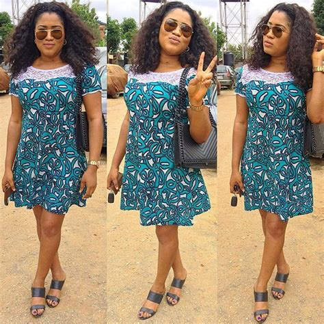 top styles  latest ankara short flare gowns
