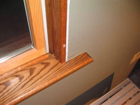 windows  drywall uneven trim install