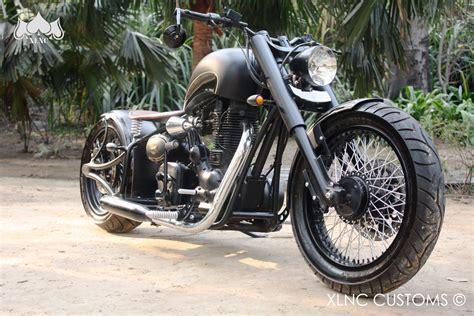 Modified Bike Price In Delhi by Chopped Royal Enfield 2003 Electra By Xlnc Customs Delhi