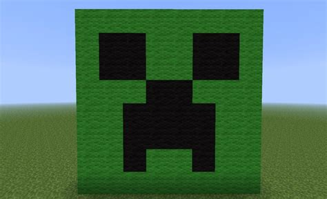 Wall Ideas by Creeper Head Minecraft Project