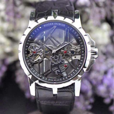 Roger Dubuis Aaa rel 243 gio r 233 plica roger dubuis esquelete preto new