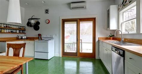 marmoleum floor home pinterest floors green portland