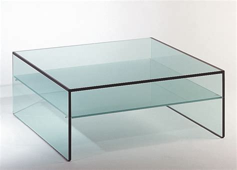 Glass Coffee Table Fratina Glass Coffee Table Glass Coffee Tables By Tonelli Design