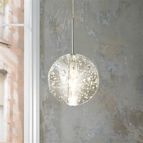 glass orb pendant light et2 orb 4 1 2 quot wide clear glass mini pendant