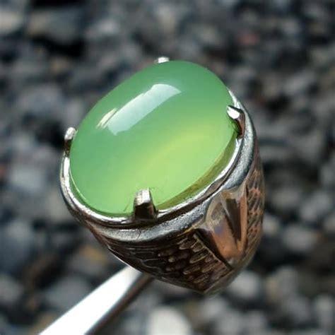 Gelang Batu Green Calcedhony khasiat batu green chalcedony pusaka dunia