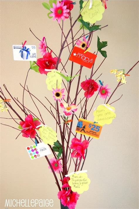 Gift Card Tree Ideas - quot how to make a gift card tree quot craft ideas pinterest