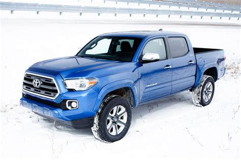 truck toyota 2016 2016 toyota tacoma double cab limited front three quarters