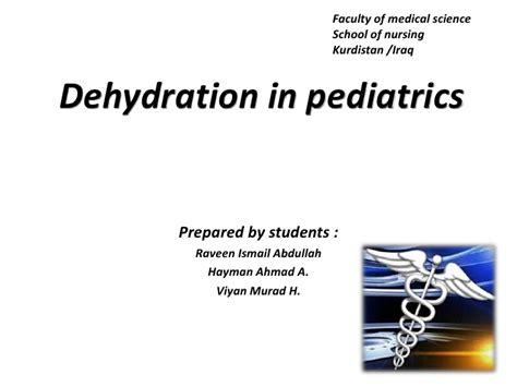 dehydration in children dehydration in children