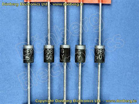 dioda uf semiconductor uf5408 uf 5408 silicon diode 1000v 3a 150ap 75ns