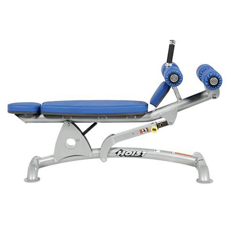 hoist fitness ab bench cf 3264 adjustable decline ab bench hoist fitness