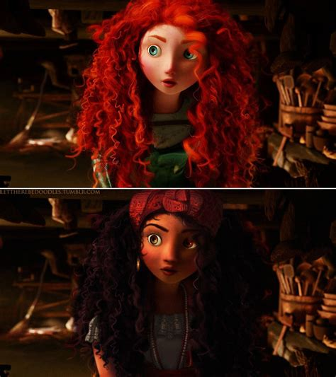 Things That Spice Up The Bedroom Merida Disney Princesses With Different Races Popsugar