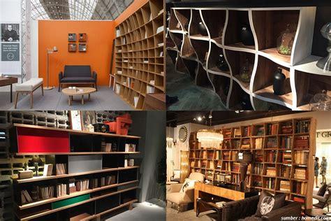 membuat rak buku modern desain rak modern ini bikin buku yang dipajang tambah cantik