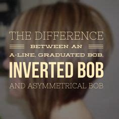 whats the difference between a bob and a stacked bob hairstyle the difference between an a line graduated bob inverted