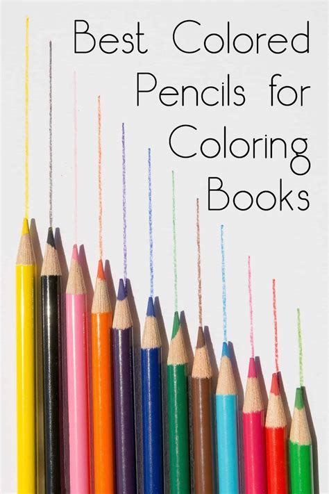 best coloring pencils best colored pencils for coloring books diycandy
