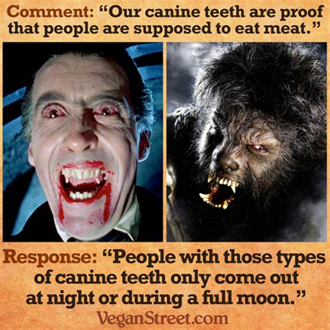 Dog Teeth Meme - carnism explains how animals can be loved and eaten for