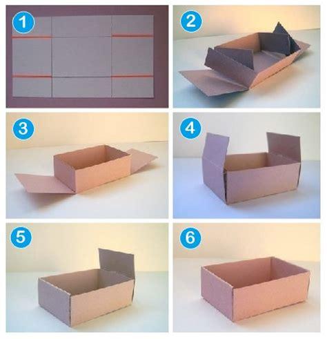 cara membuat aneka mainan dari kardus cara buat kotak dari karton kerajinan tangan dari kotak