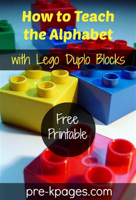bookinitat50 how to teach the alphabet with lego duplo blocks