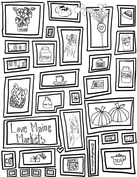 Market Coloring Pages Maine Coloring Pages Glum Me by Market Coloring Pages
