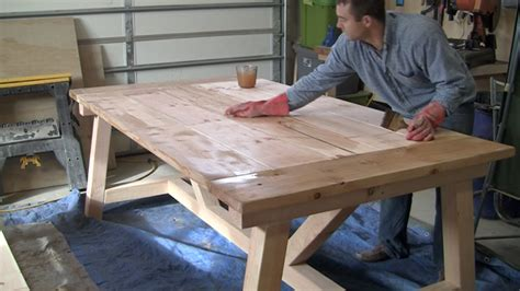 Farmers Dining Room Table how to build a farmhouse table