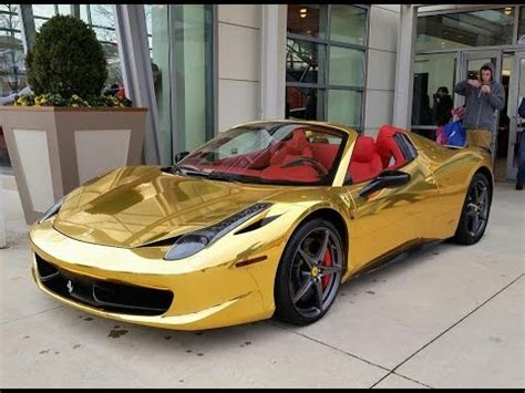chrome 458 spider gold chrome 458 spider
