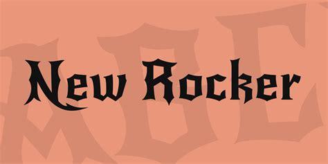 new rocker font 183 1001 fonts